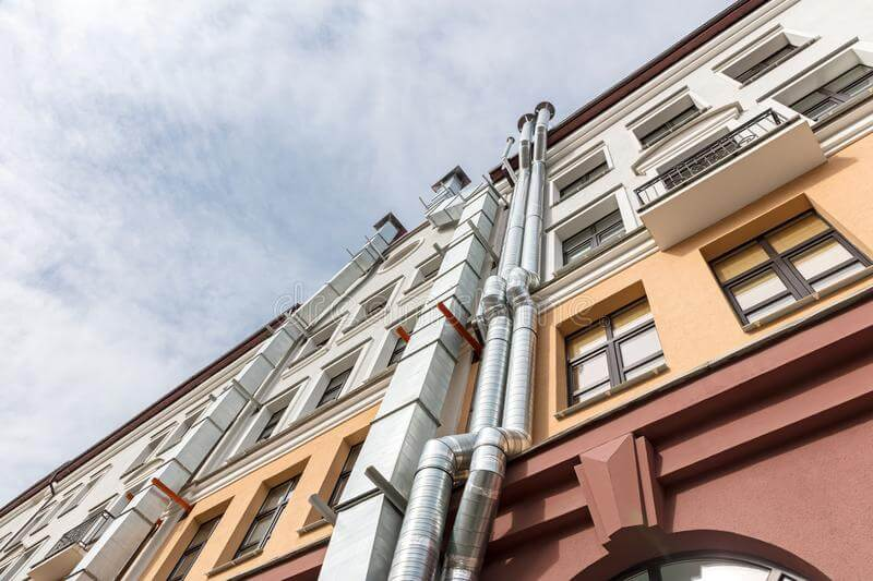 согласование воздуховода на фасаде здания